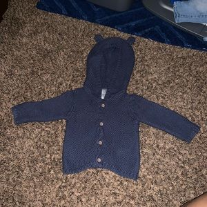 Blue Carter's jacket with teddy ears